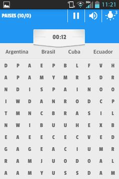 SOPAS DE LETRAS 2017 apk screenshot