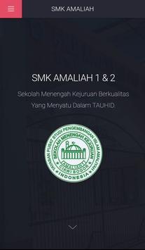 SMK Amaliah Ciawi poster