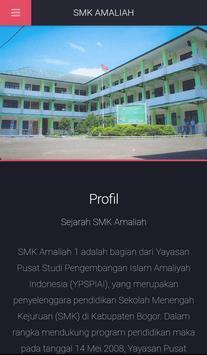 SMK Amaliah Ciawi screenshot 1