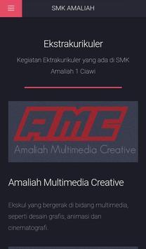 SMK Amaliah Ciawi screenshot 5
