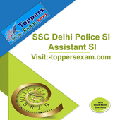 SSC Delhi Police SI Assistant SI Free Test Series icon