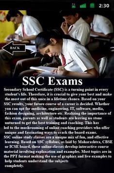 SSC Exams apk screenshot