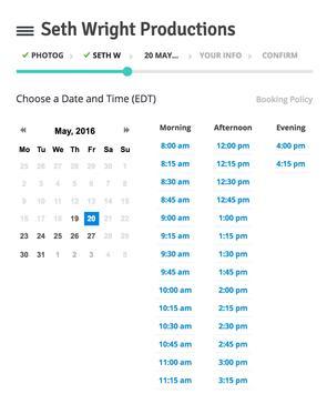 SWP Scheduling screenshot 2