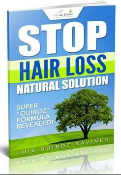 STOP HAIR FALLING poster