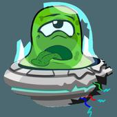 Stupid UFO Alien icon