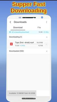 SUPPER FAST DOWNLOAD BROWSER screenshot 2
