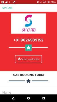 SV CAB poster