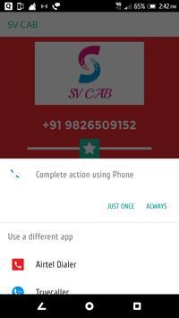 SV CAB apk screenshot