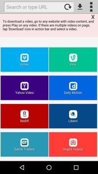 Scarica tutti i Video gratis apk screenshot