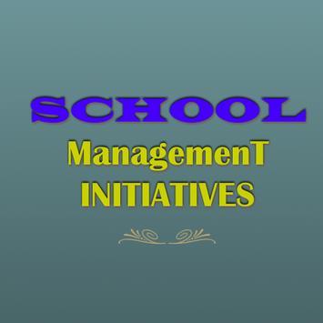 School Management Initiatives poster