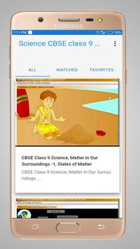 Science CBSE Class 9 poster