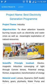 Science Project Ideas screenshot 4