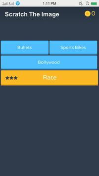 Scratch : Guess the Bikes, Bullets and Celebrity screenshot 1