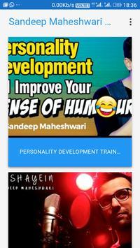 Sandeep Maheshwari Youtube Channel poster