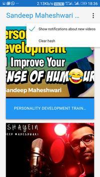 Sandeep Maheshwari Youtube Channel apk screenshot