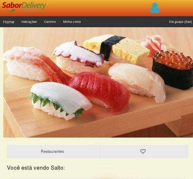 SaborDelivery screenshot 4