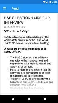 Safety Professionals App poster