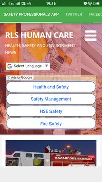 Safety Professionals App screenshot 1