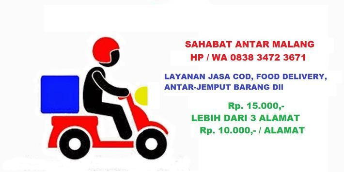 Jasa Antar / COD Malang poster