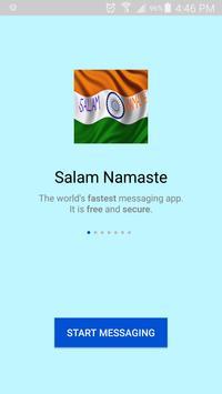 Salam Namaste - Indian Messenger poster
