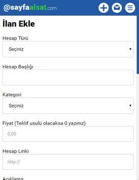 Sayfaalsat apk screenshot