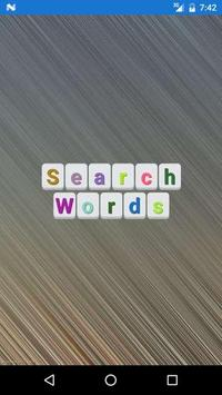 Search Word poster