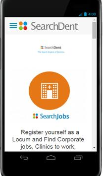 Searchdent - Dental Jobs Locum poster
