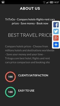Search hotels price Iraq apk screenshot