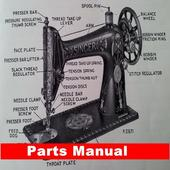 Sewing Machine Parts Manual icon