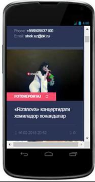 Shok.Uz  Shok Yangiliklar screenshot 3
