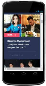 Shok.Uz  Shok Yangiliklar screenshot 2