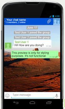 Shoot Messenger screenshot 1