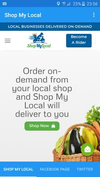 Shop My Local - Local On-demand Delivery poster