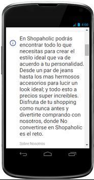 Shopaholic screenshot 1