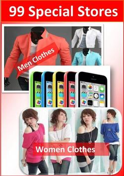Shopping app online India poster