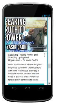 Shaykh Yasir Qadhi Videos apk screenshot