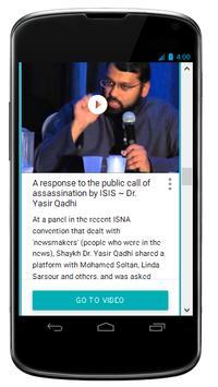 Shaykh Yasir Qadhi Videos poster