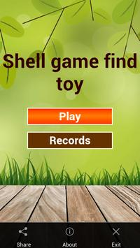 Shell Game-Find Toy apk screenshot