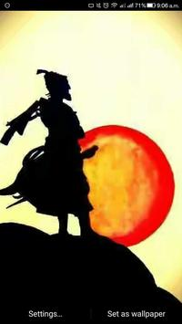 Shivaji Maharaj live wallpapers apk screenshot