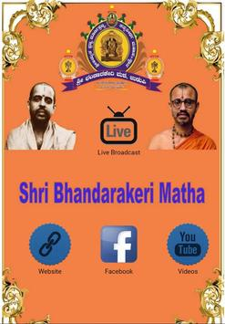 Shri Bhandarakeri Matha poster