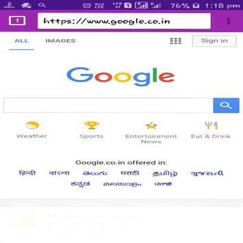 Shy Browser screenshot 1