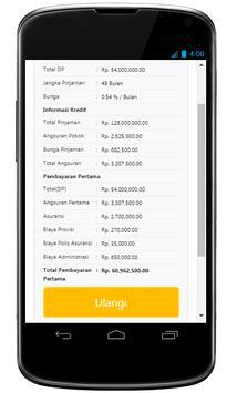 Simulasi Kredit Mobil screenshot 2