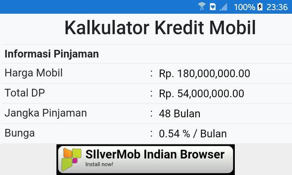 Simulasi Kredit Mobil screenshot 6