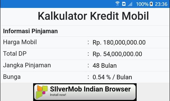 Simulasi Kredit Mobil screenshot 7