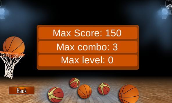 Simple Basket Balls Game apk screenshot