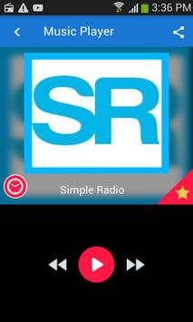 Simple Radio poster