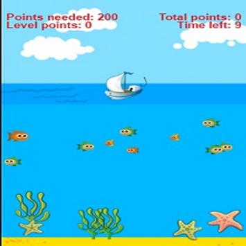Simple fishing for kids poster