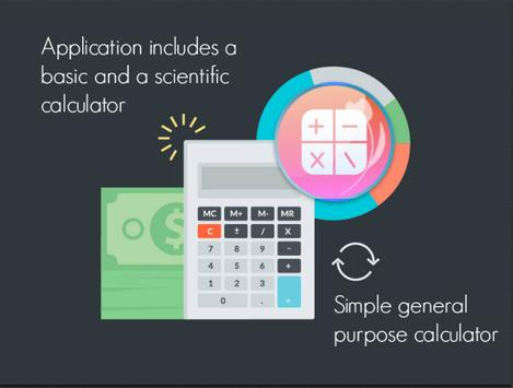 Simple scientific all-in-one calculator 海报