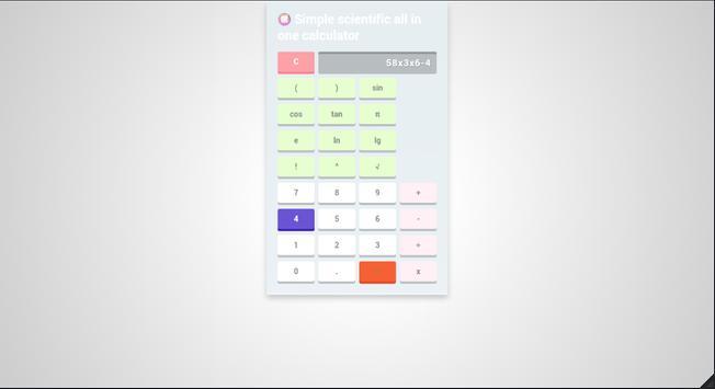 Simple scientific all-in-one calculator screenshot 15