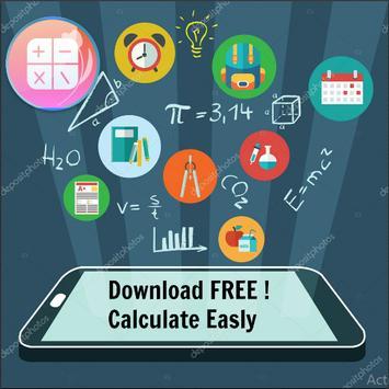 Simple scientific all-in-one calculator screenshot 1